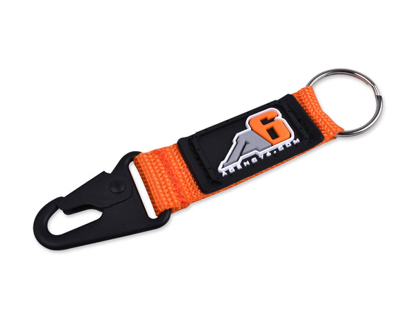 Agency 6 Key Chain - Orange