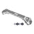 Billet batter hold down for Toyota 4runner in silver