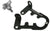 Jack Handle Keeper for Hi-Lift Jacks - (Black Powder Coat)