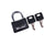 A6 Adventure Equipment Cable Lock Kit - (Black)