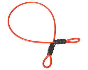A6 Adventure Equipment Cable Lock - Orange - (Cable Only)