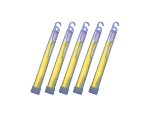 "6"" Chemlights - GREEN (Pack of 5)"