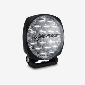 Lightforce - 6 Inch LED Driving Light LED 75W 2 Power Positioning Single Venom