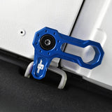 L-SHAPED ROOF LOCKS - JK JEEP (Set of 4) - BLUE