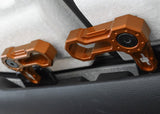 L-SHAPED ROOF LOCKS - JL/JT JEEP (Set of 6) ORANGE