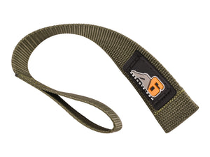 A6™ WINCH HOOK Pull Strap - OD GREEN - 1.5 inch wide