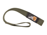 A6™ WINCH HOOK Pull Strap - OD GREEN - 1 inch wide