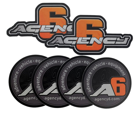Agency 6 Decal Pack