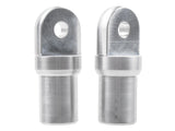 Weld On Tube Ends/ Bungs (pair)
