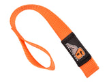 A6™ WINCH HOOK Pull Strap - ORANGE - 1 inch wide