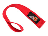 A6™ WINCH HOOK Pull Strap - RED - 1.5 inch wide