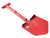 A6™ Shovel / Mount Combo - Red/ Grey