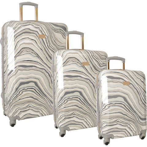Vince Camuto Abbygaile 3 Piece Hardside Spinner Luggage Set