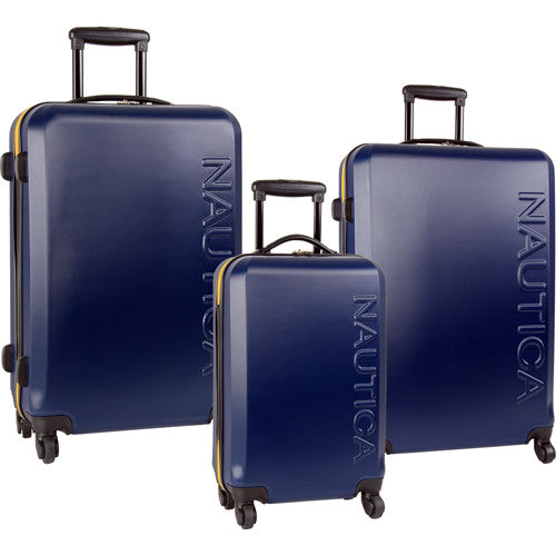 Nautica Ahoy 3 Pc. Spinner Luggage Set