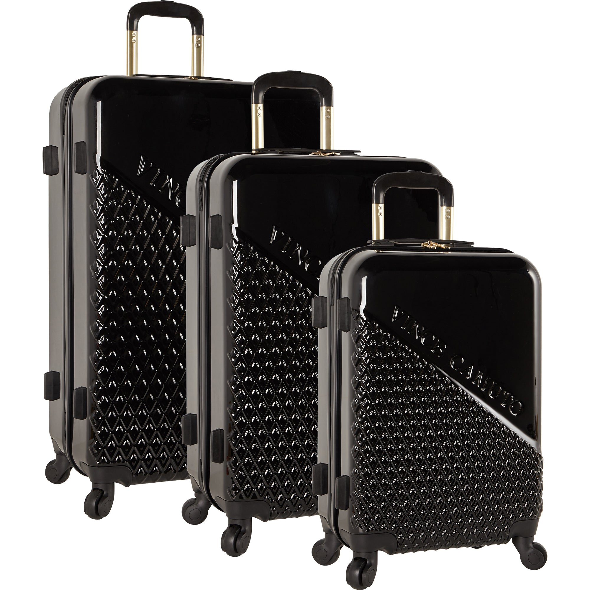 d721a1e171b5 Vince Camuto Sierrah 3 Piece Hardside Spinner Luggage Set