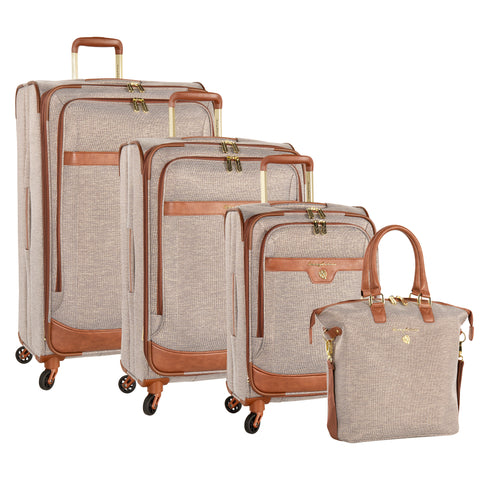 Tommy Bahama Gimlet 4 Piece Expandable Spinner Luggage Set