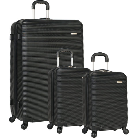 276e63096d5d Travel Gear Crater 3 Piece Hardside Spinner Luggage Set