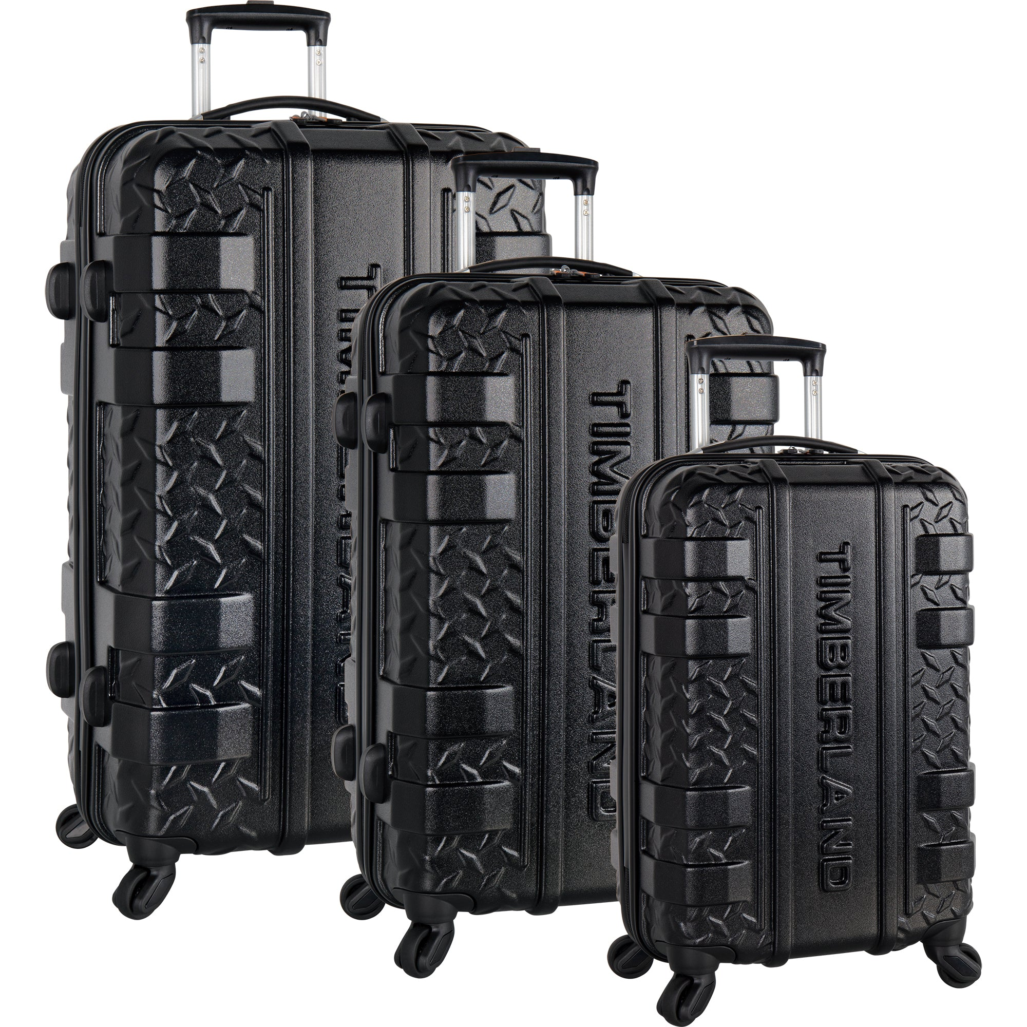 2407e90b51 Timberland Keele Ridge 3 Piece Hardside Spinner Luggage Set. Group Urban  Chic · Group Jet Black ...