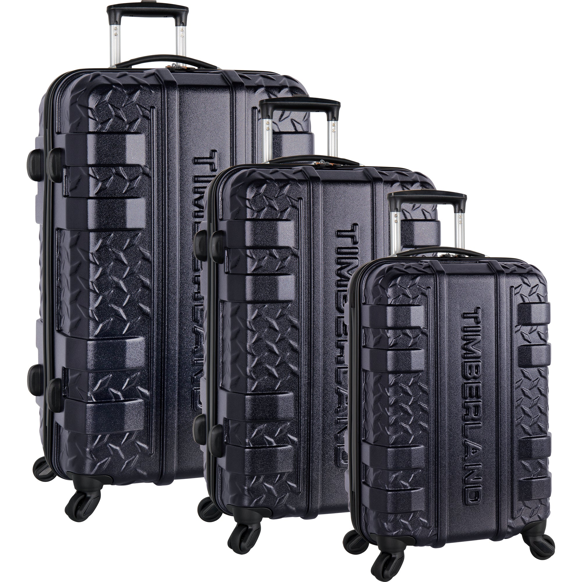 8b782046d1 Timberland Keele Ridge 3 Piece Hardside Spinner Luggage Set. Group Urban  Chic · Group Jet Black · Group Dark Sapphire ...