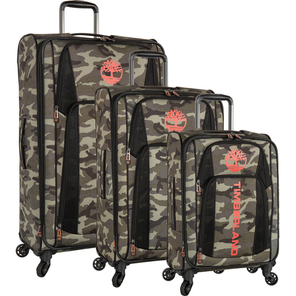 authorized site factory outlet best wholesaler Timberland Sadler Pass 3 Piece Spinner Luggage Set