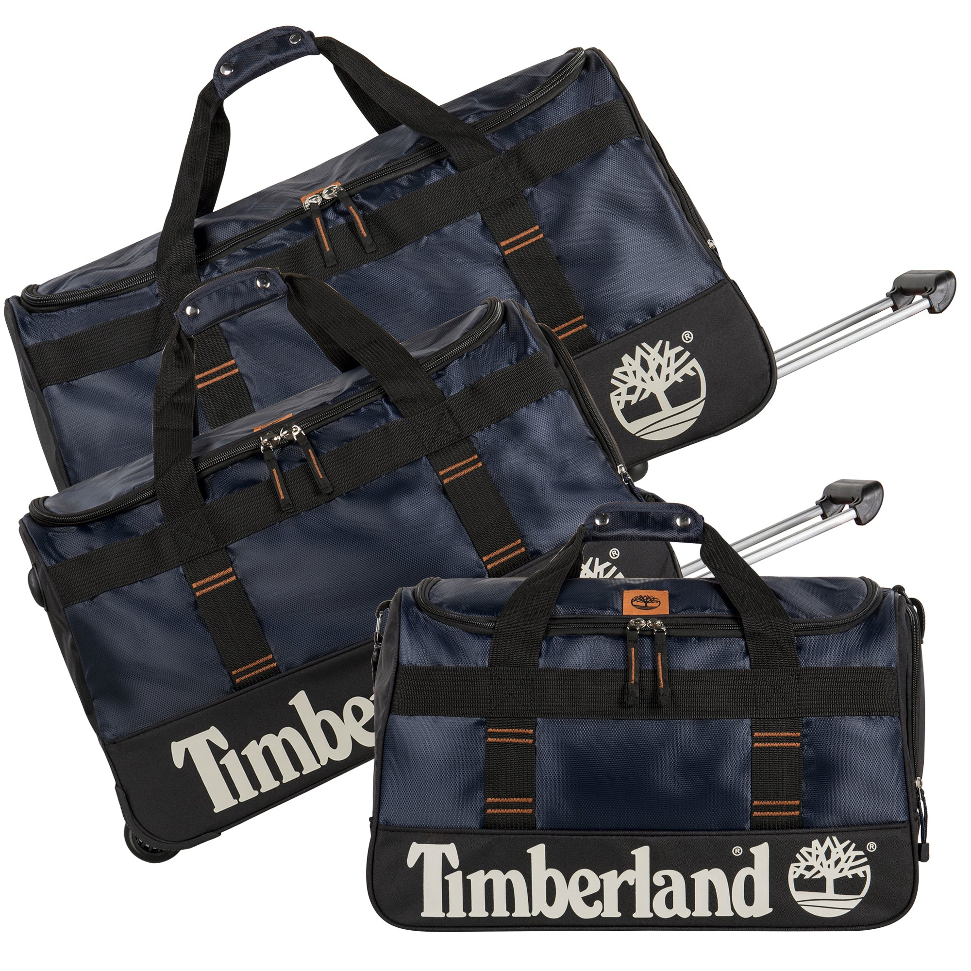 71a141d2ad Timberland Jay Peak 3 Piece Wheeled Duffle Set – Luggage Guy