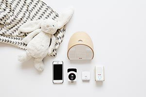 Top View of KODAK Baby Monitor products