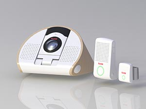 Front View of KODAK Baby Monitor products