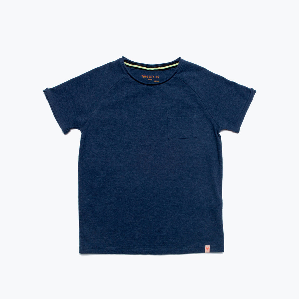 Boy's Raglan T-Shirt Navy