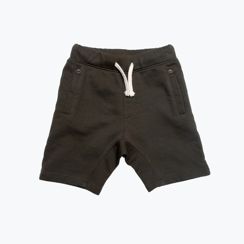 Boy's Pull-On Knit Shorts Olive
