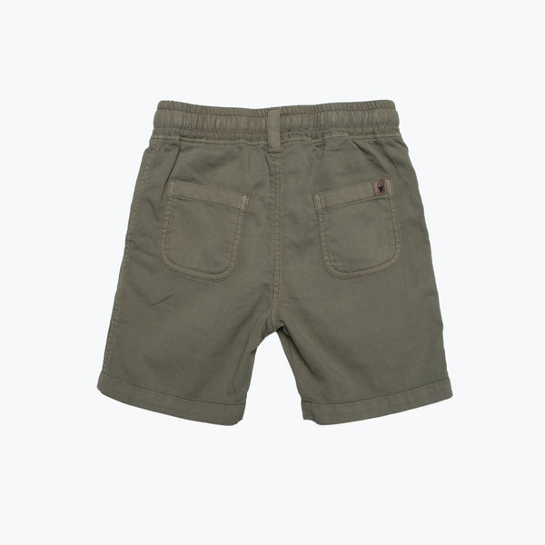 Boy's Pull-On Lightweight Shorts Fatigue