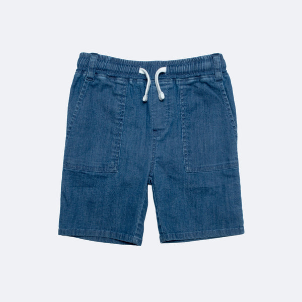 Boy's Pull-On Denim Shorts
