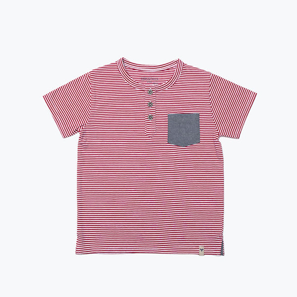 Boy's Denim Pocket T-Shirt