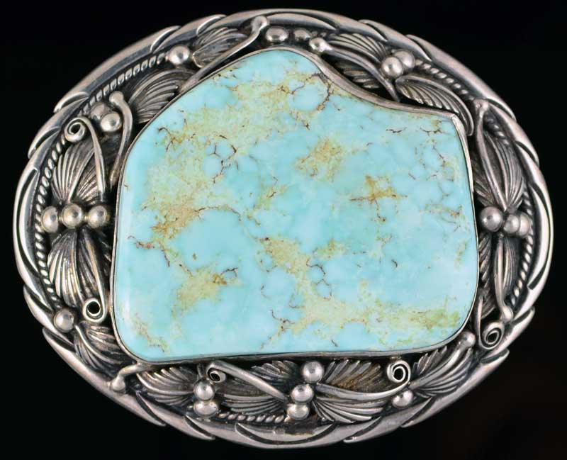 Dry Creek Turquoise Buckle