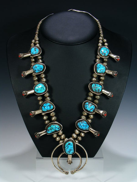 Sleeping Beauty Turquoise Necklace and Earrings Set