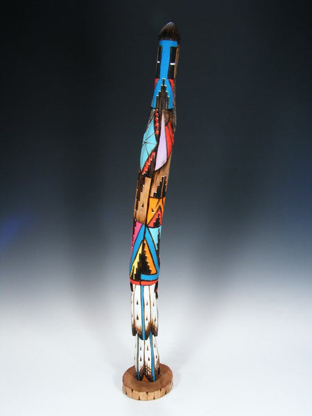 Navajo Longhair Shalako Carved Kachina Doll