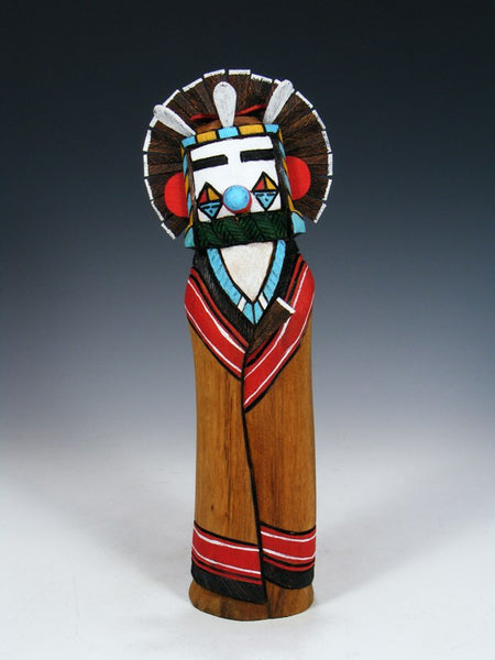 Carved Corn Dancer Zuni Kachina Doll