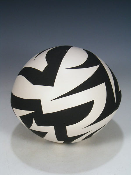 Acoma Pueblo Coiled Pottery Seed Pot