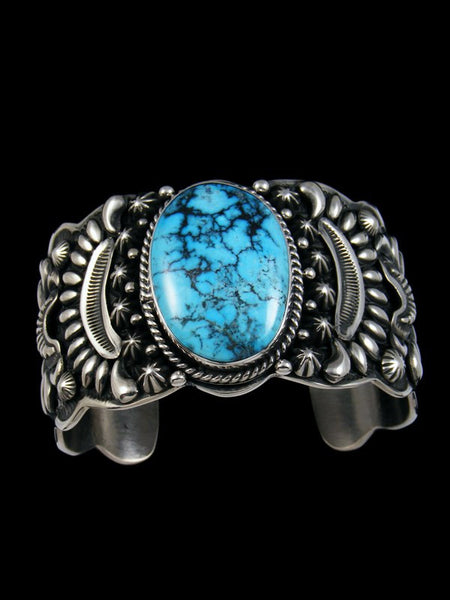 Native American Ithaca Turquoise Cuff Bracelet