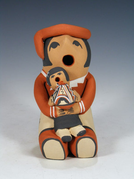 Jemez Pueblo Pottery Single Baby Storyteller