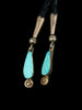 Old Pawn Indian Jewelry Zuni Inlay Bolo Tie by Edward Beyuka - PuebloDirect.com - 2