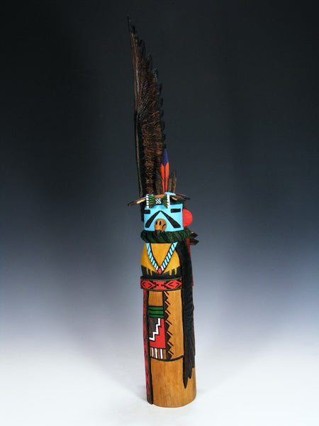 Carved Hopi Eagle Kachina Doll