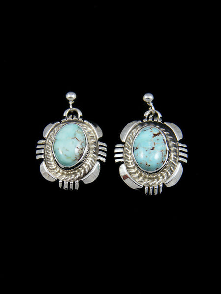 Dry Creek Turquoise Sterling Silver Earrings