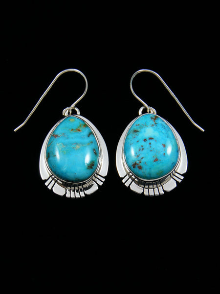 Easter Blue Turquoise Earrings
