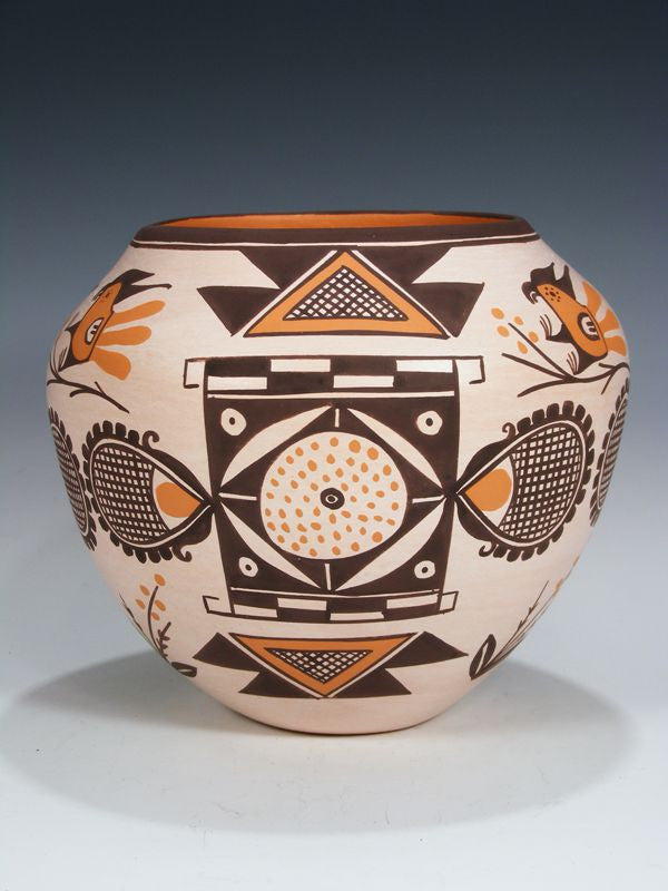 Acoma Pueblo Hand Coiled Pottery by Clara Kuutimaitsa Santiago - PuebloDirect.com - 1
