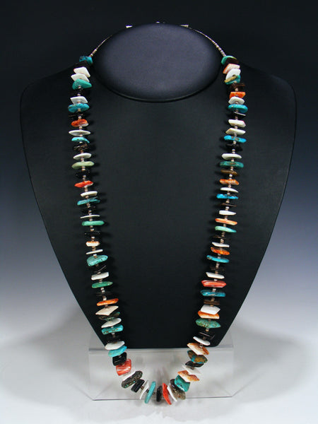 Native American Indian Santo Domingo Shell Necklace