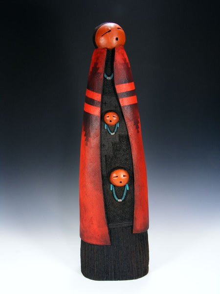 Santo Domingo Pueblo Pottery Vase by John Whiterock - PuebloDirect.com - 1