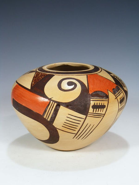 Hopi Pueblo Hand Coiled Pottery by Adelle Nampeyo - PuebloDirect.com - 1