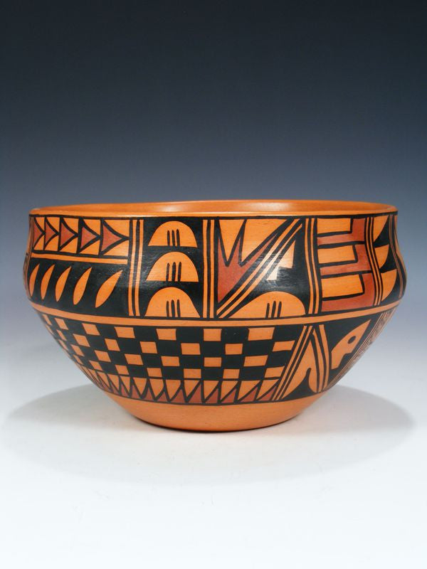 Hopi Hand Coiled Pottery by Alta Yesslith - PuebloDirect.com - 1