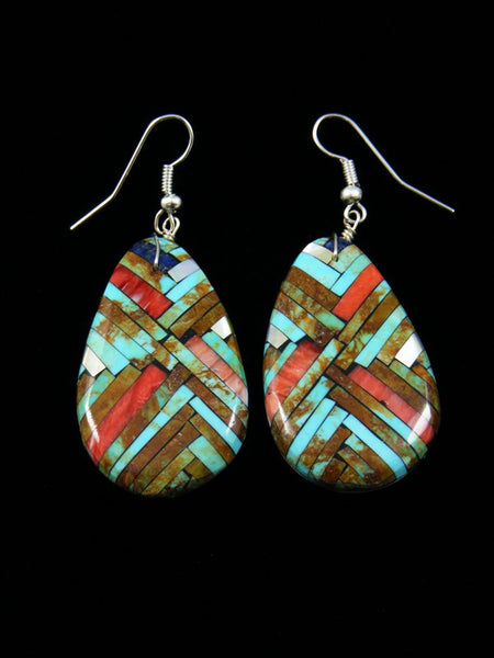 Santo Domingo Turquiose Inlay Earrings