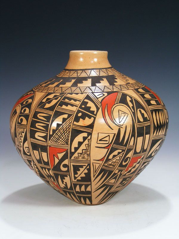 Hopi Hand Coiled Pottery by Antoinette Honie - PuebloDirect.com - 1